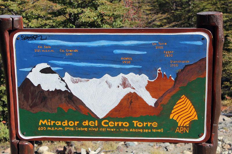 Panneau Cerro Torre