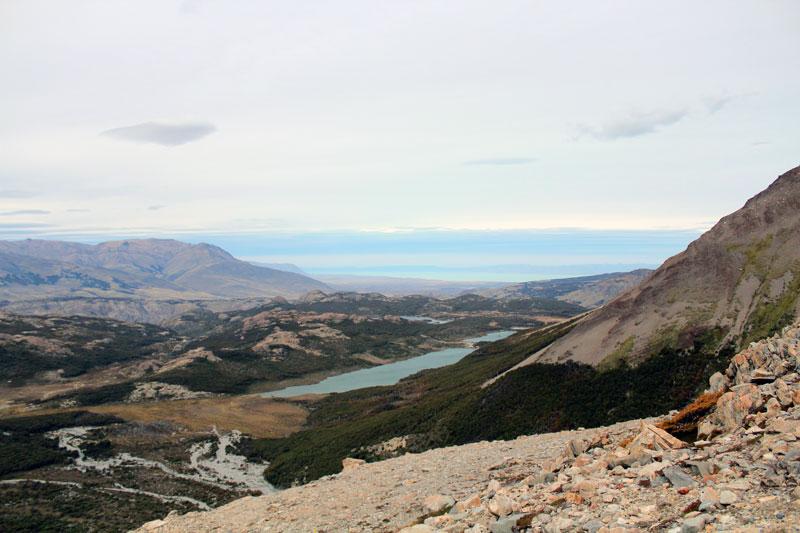 Vue lago Madre