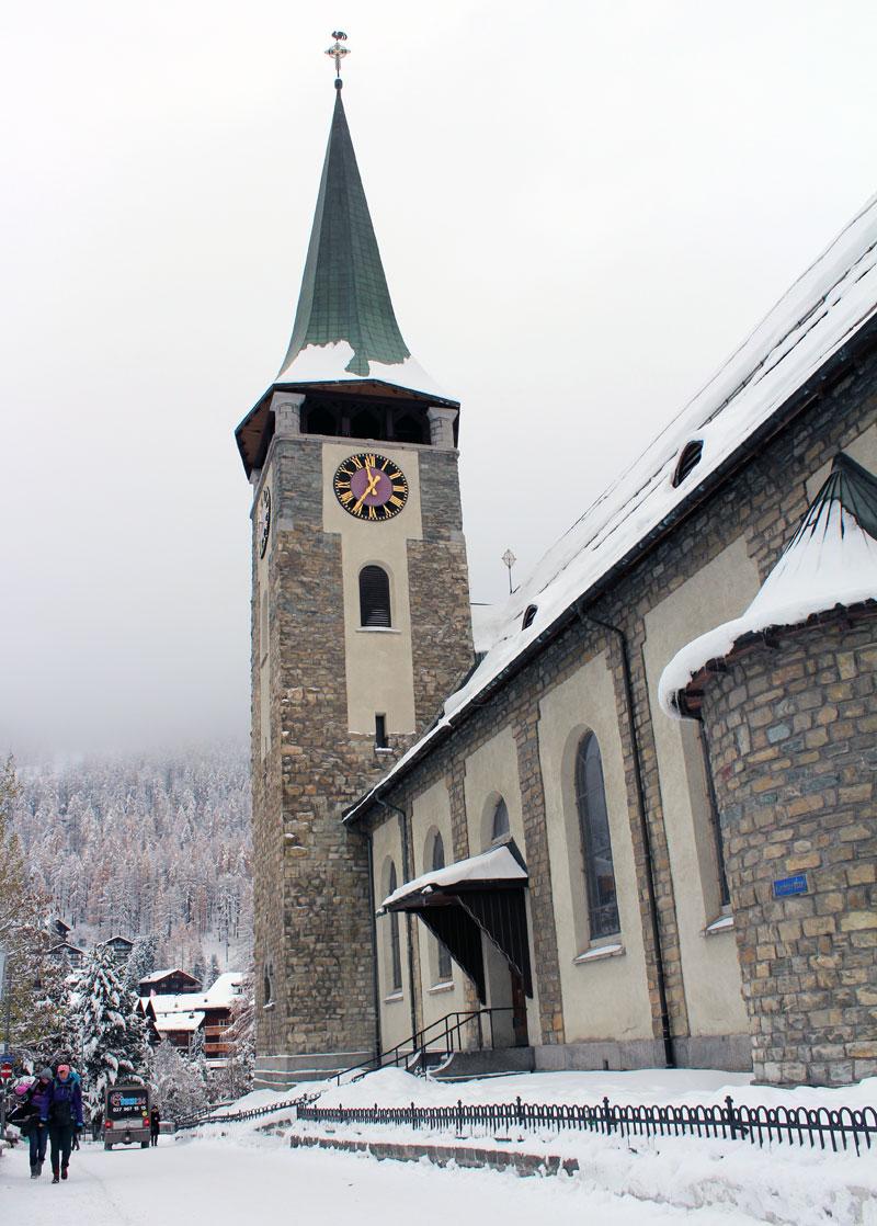 Eglise Zermatt