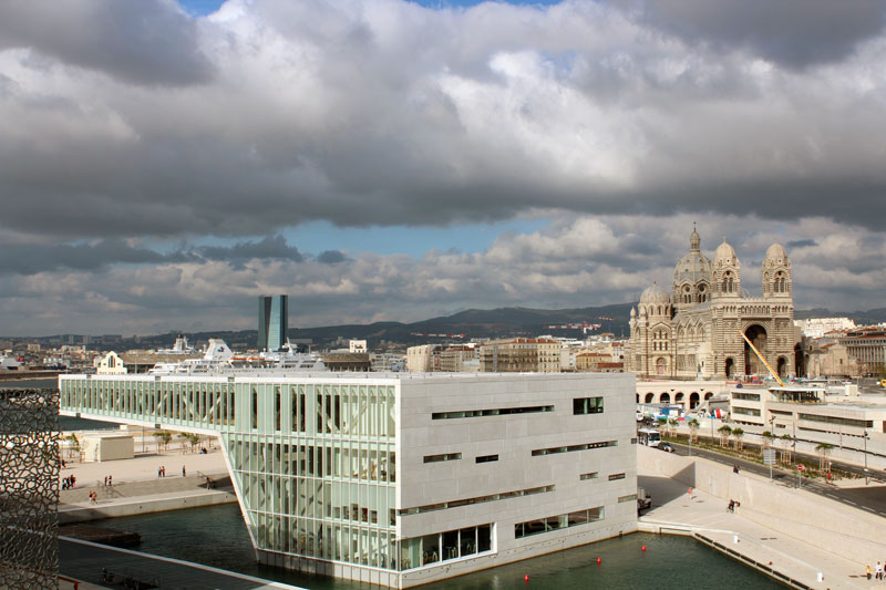 Mucem et cathedrale de la Major