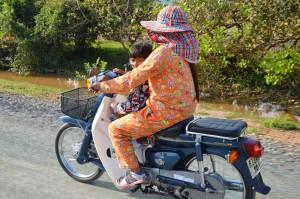 Pyjama au cambodge