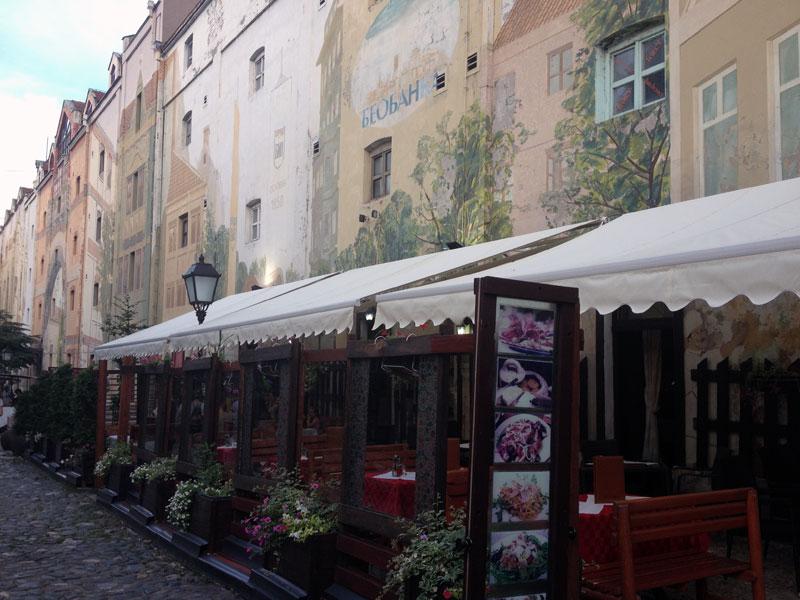 Quartier bohème Skadarlija