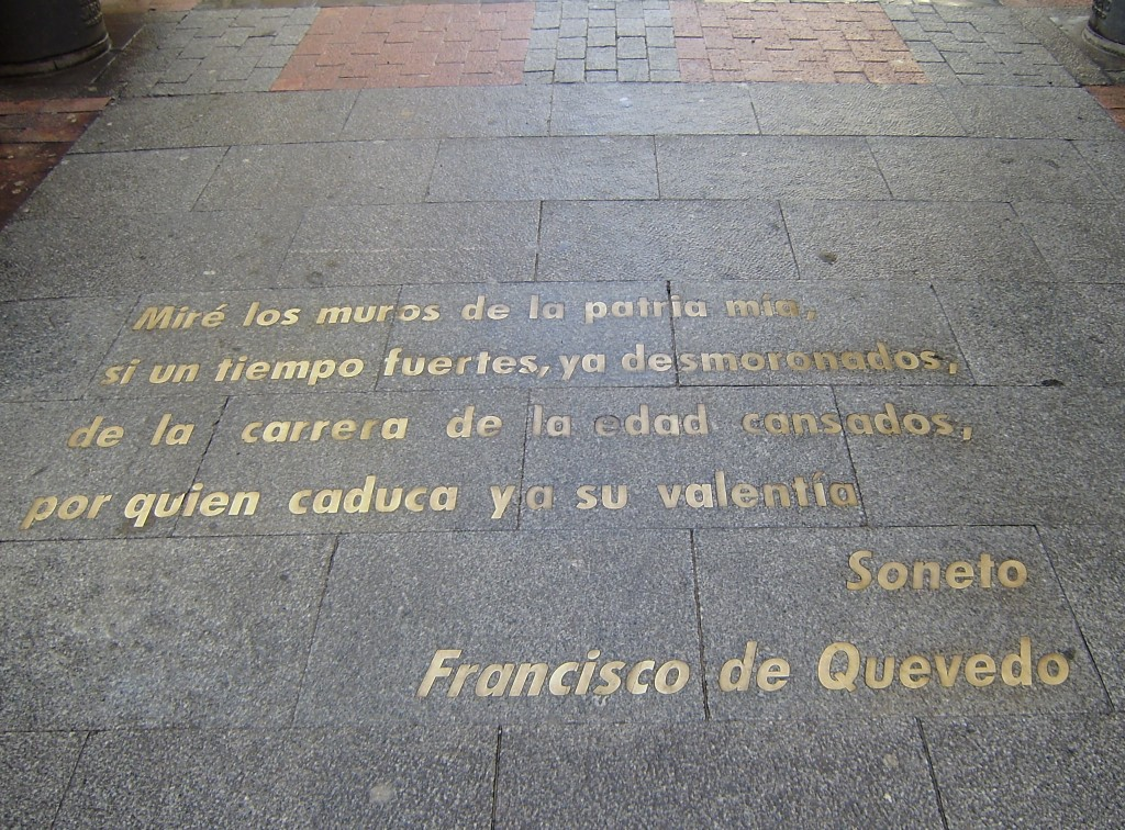 Citations dans la Calle Huerta