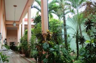 Cour intérieure casa Santa Clara