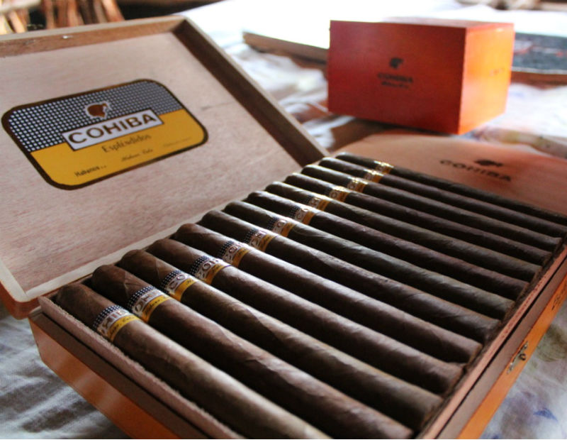 Boite de cigars Cohiba