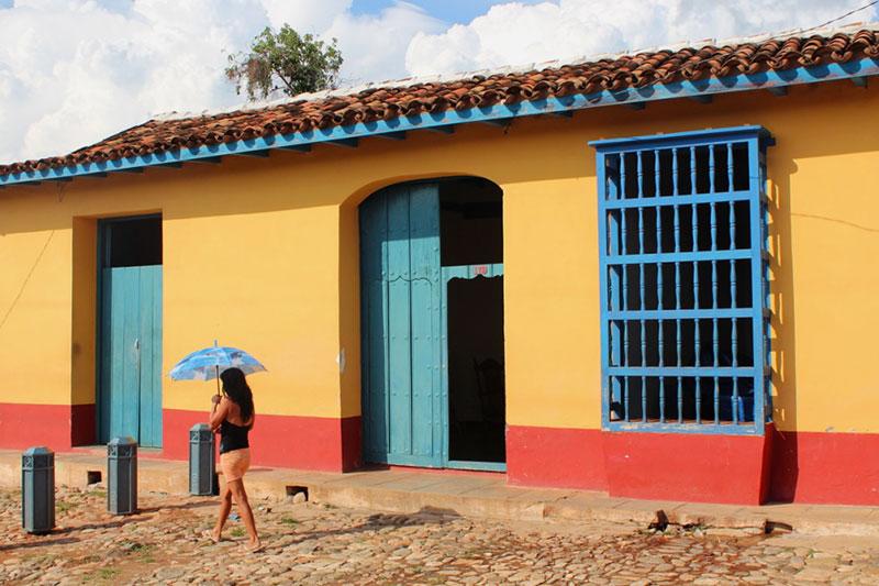 Maison colorée de Trinadad