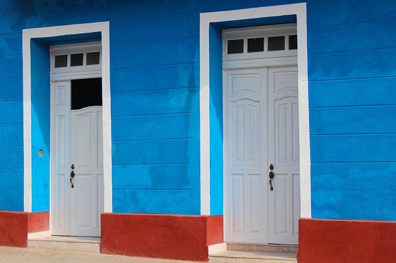 Couleur drapeau Cuba