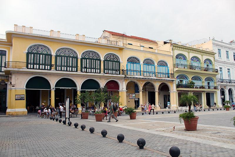 Place Vieja à la Havane