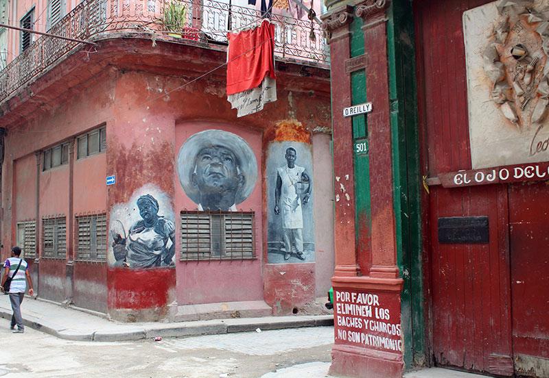 Street art à Havane vieja