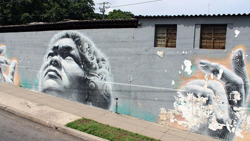Street art au centre de la Havane