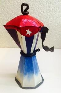 Machine à café revisité à Trinidad - Idée décor et souvenirs
