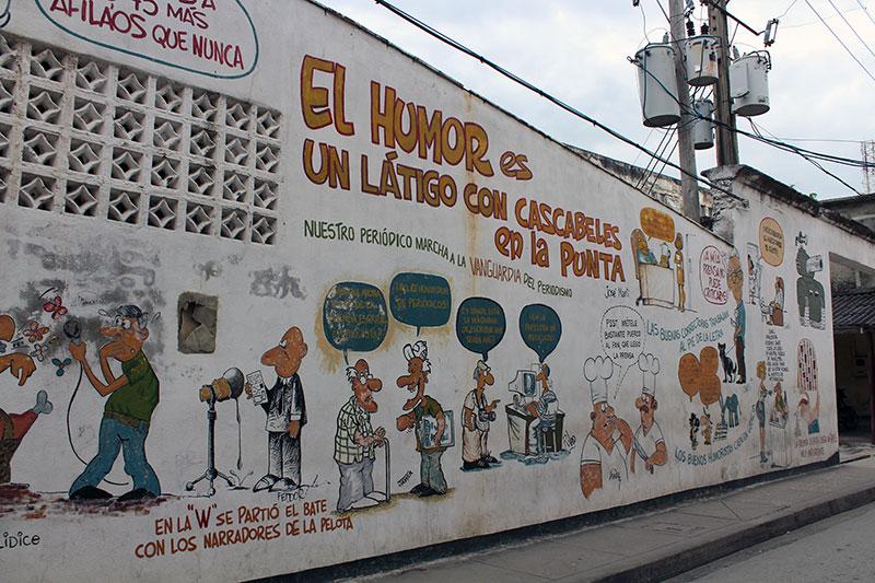 street art et revendiations à Cuba