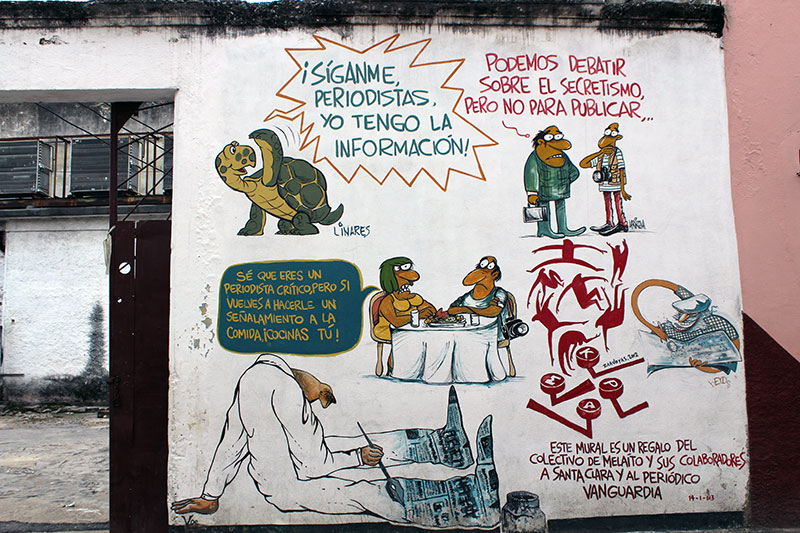 Street art et propagande à Cuba