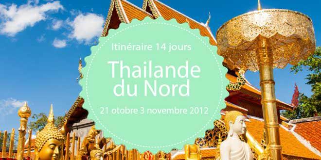 Itinéraire en Thailande