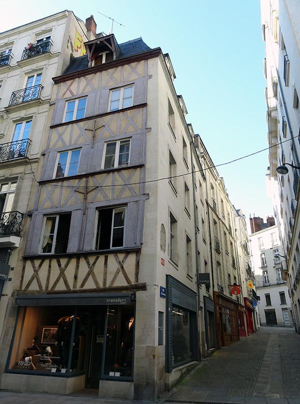 Nantes maison à colombages