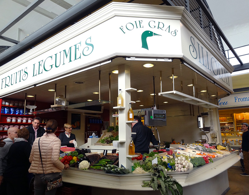 Marché de Talensac à Nantes