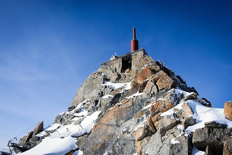 Aiguille du Midi à 3842 mètres