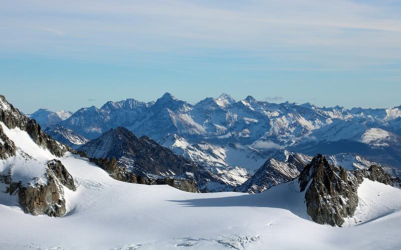 Mont Blanc vue à 360 degré