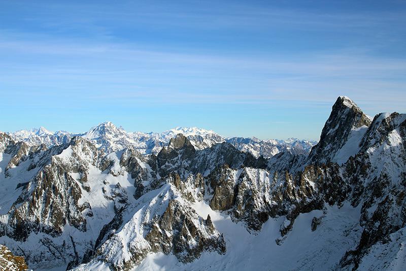 Vue Vallée Blanche