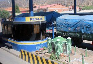 Bolivie peage Cochabamba