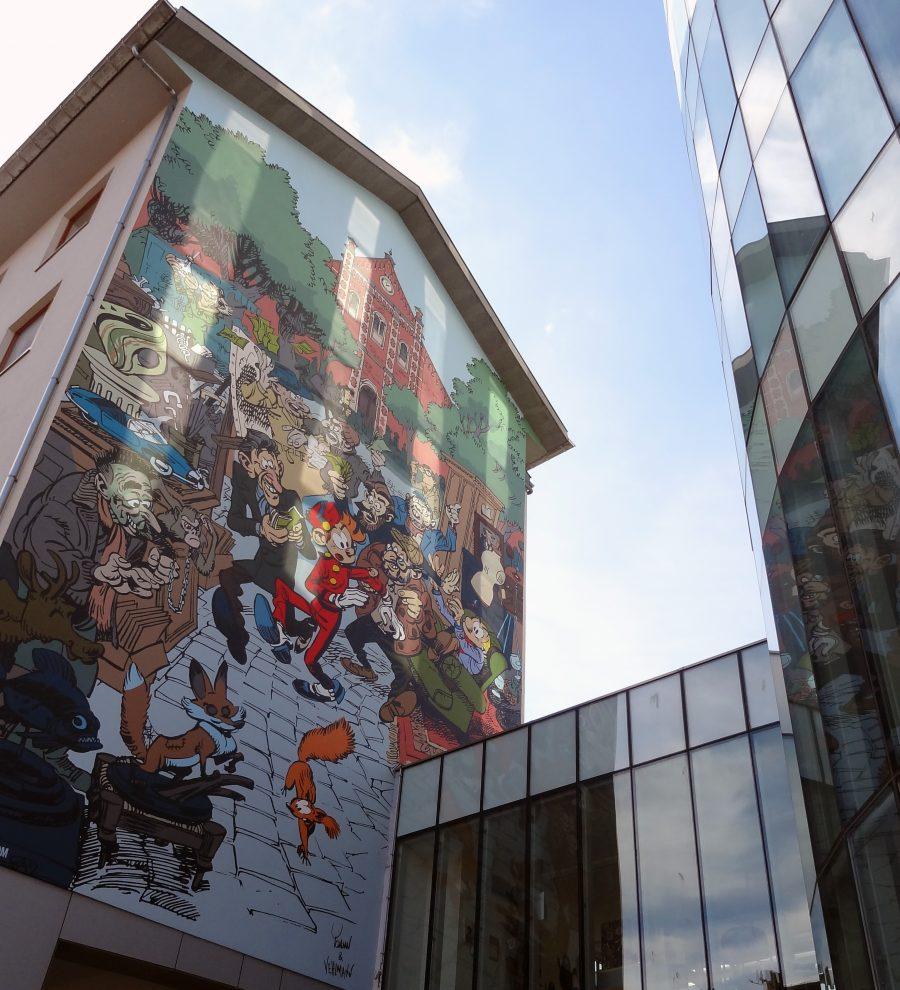 Bruxelles fresque bd