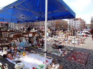 Bruxelles Marolles marché