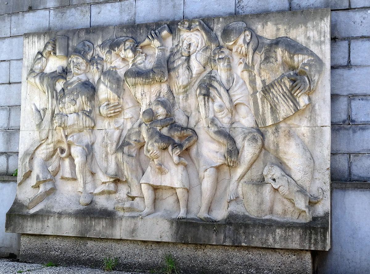Bruxelles monument des vivants