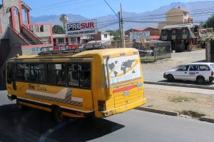 Bus en Bolivie Cochabamba