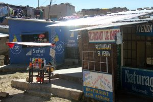 Route Cochabamba Oruro