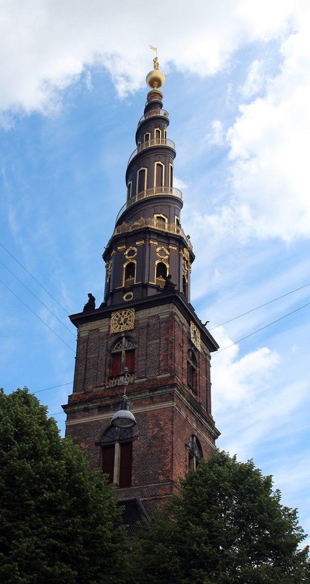 Copenhague église Notre-Sauveur