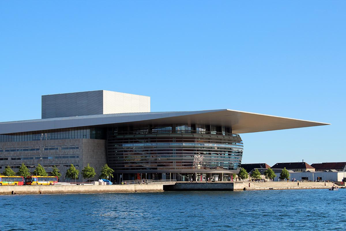 Copenhague l'opéra