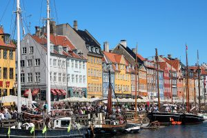 Copenhague port Nyhavn