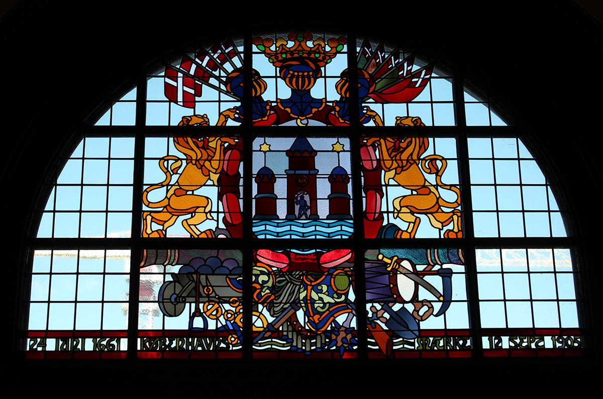 Copenhague vitrail