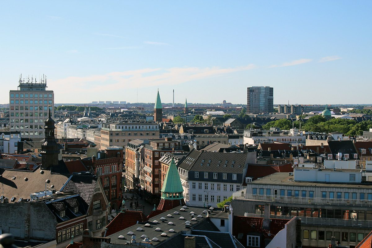 Copenhague vue tour