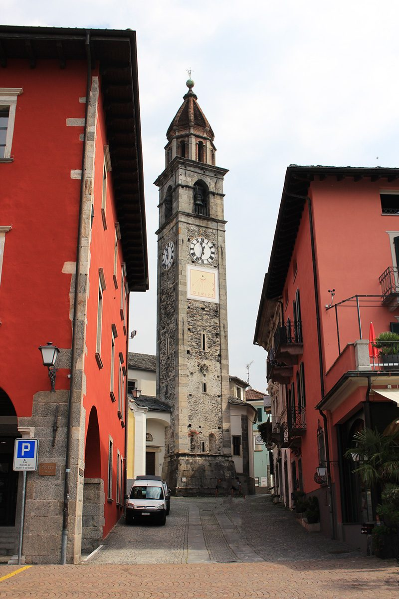 Ascona le clocher
