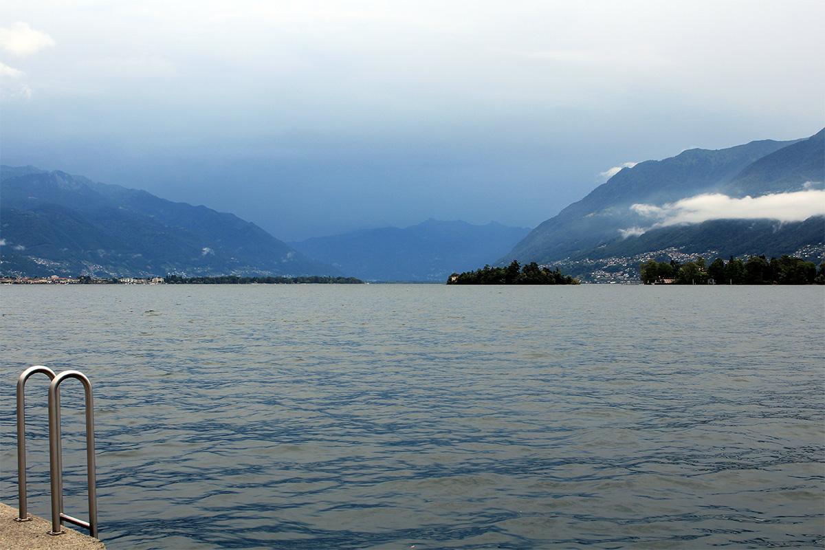 Ascona iles Bressaglia sur le lac majeur