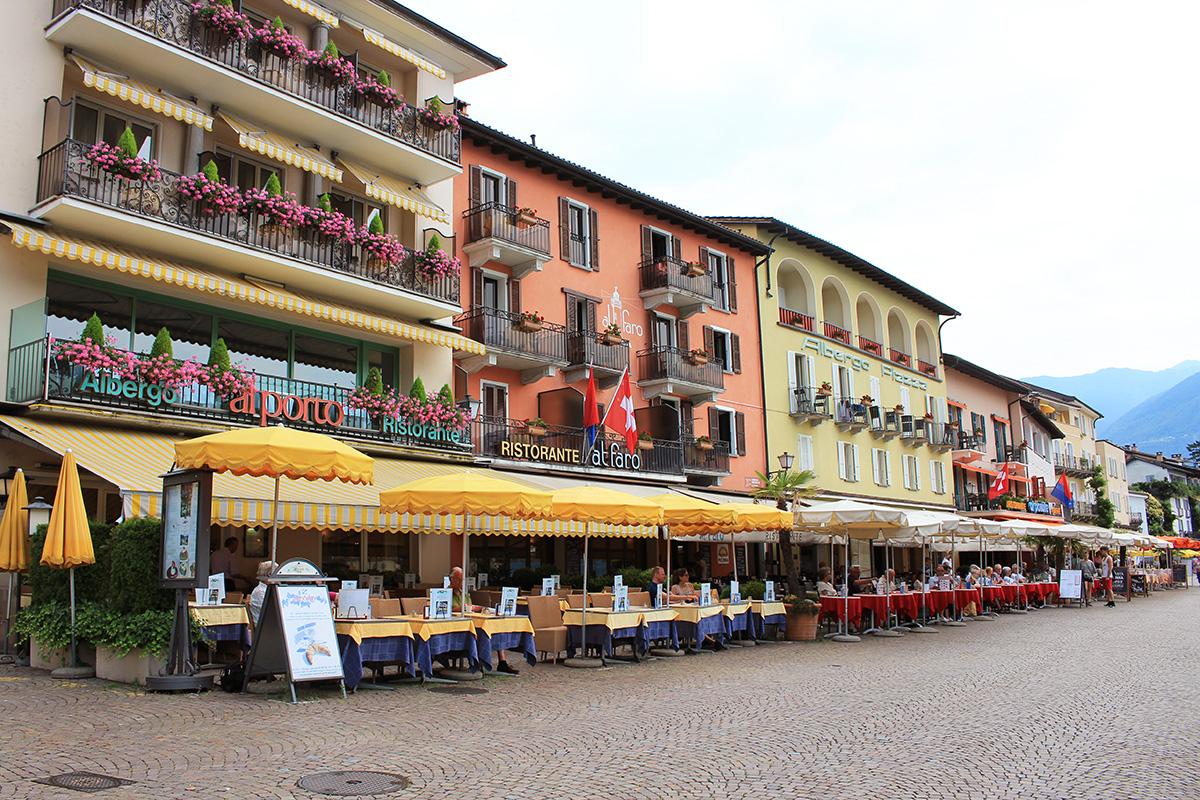 Ascona restaurant hotel