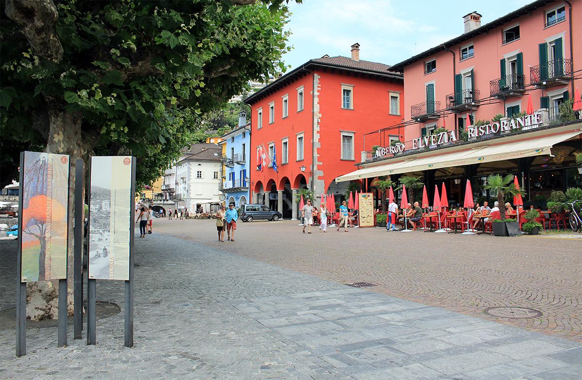 Rue principale d'Ascona
