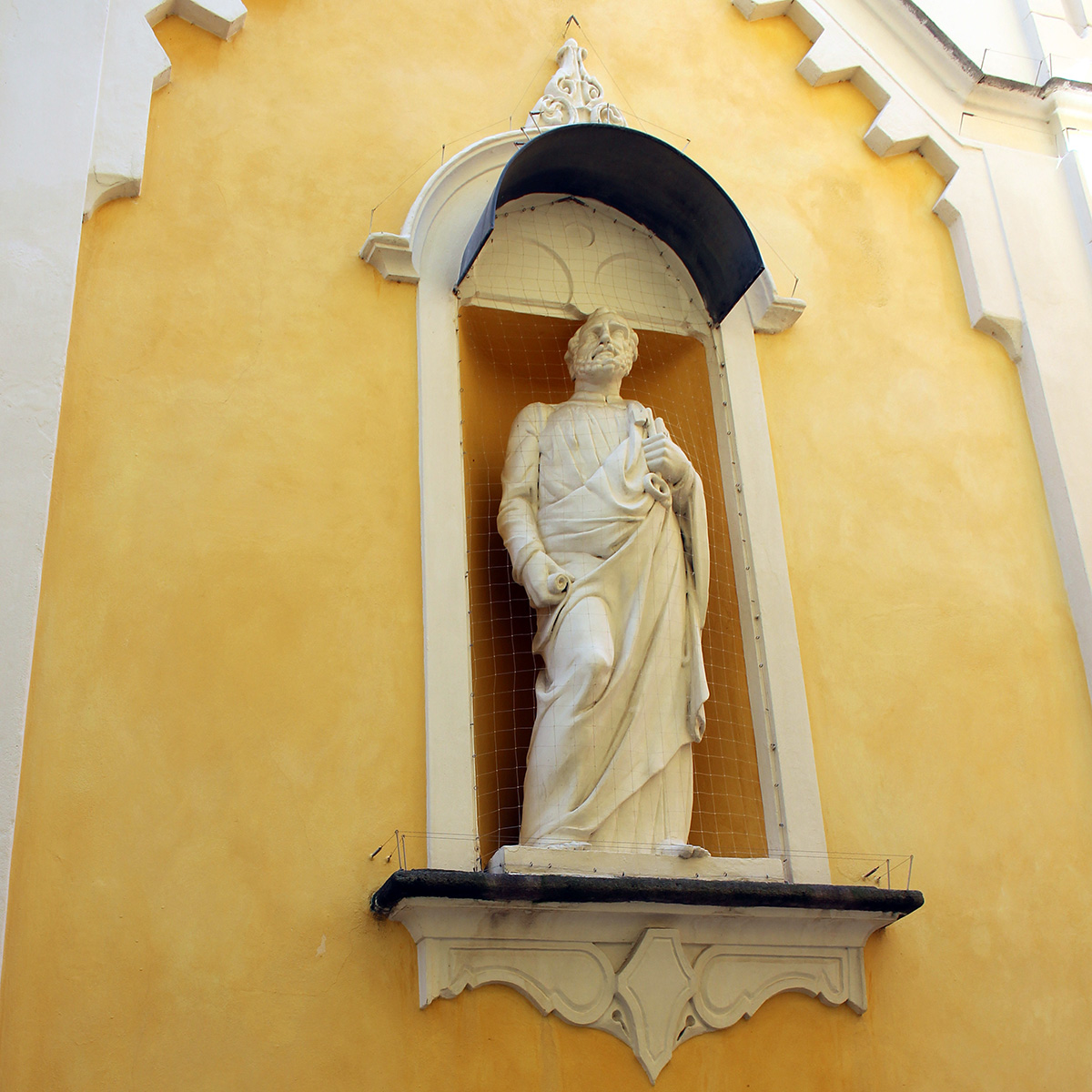 Ascona sculpture d'un Saint