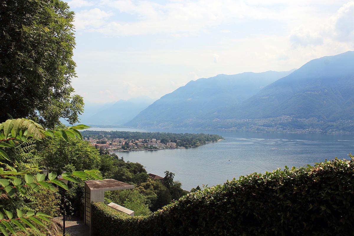Vue sur Ascona