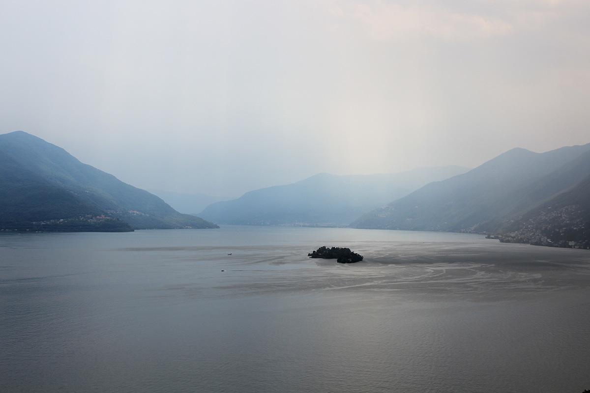 Lac majeur et les iles de Brissago