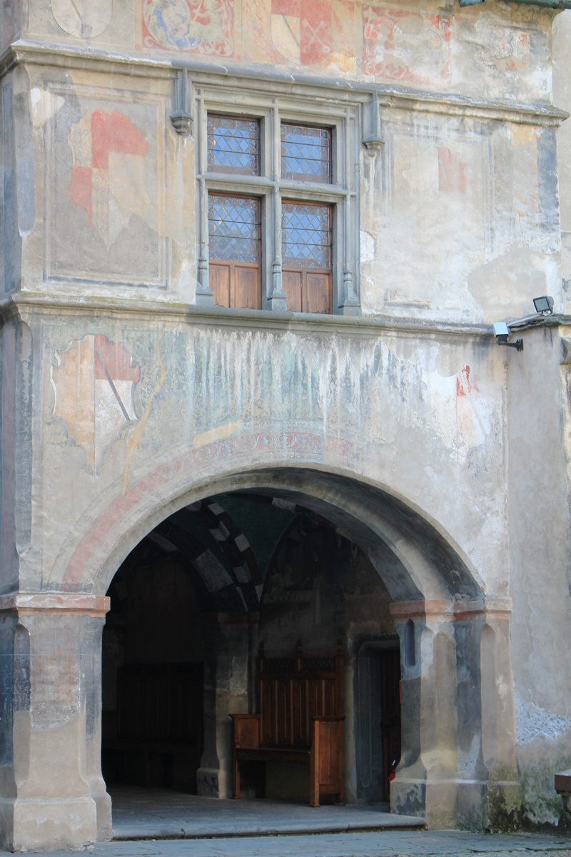 Aoste château Issogne