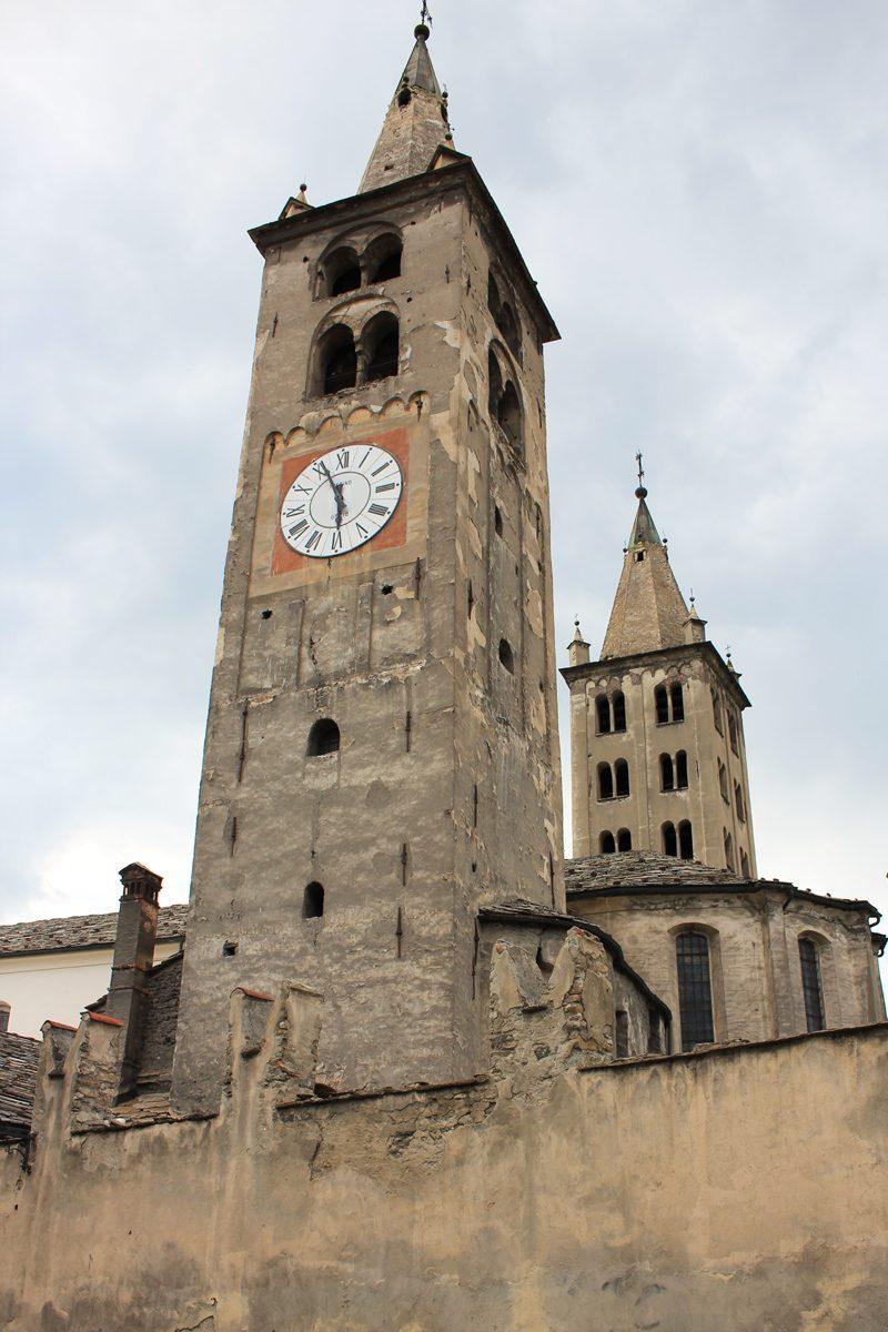 Aoste clochers église