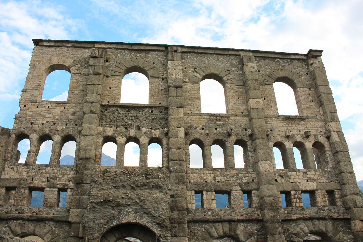 Aoste Théâtre romain