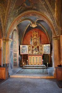 Château Issogne chapelle