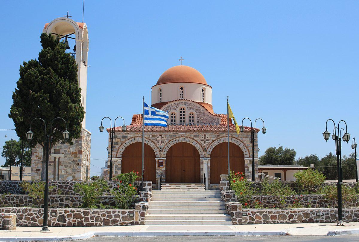 Grèce Kos église religion