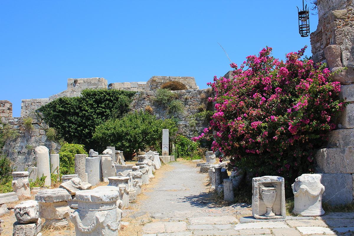 Château de Neratzia à Kos
