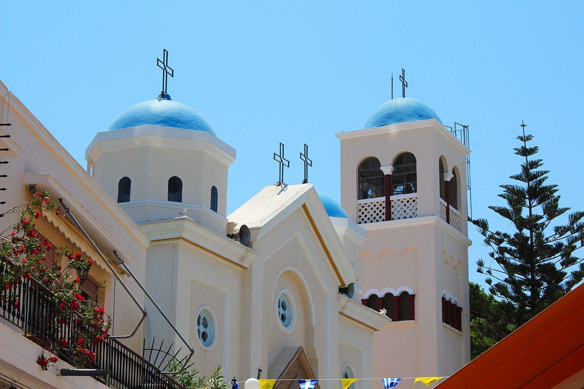 Kos église d'Agia Paraskevi