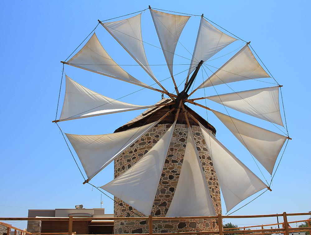 Kos moulin à vent Antimachia
