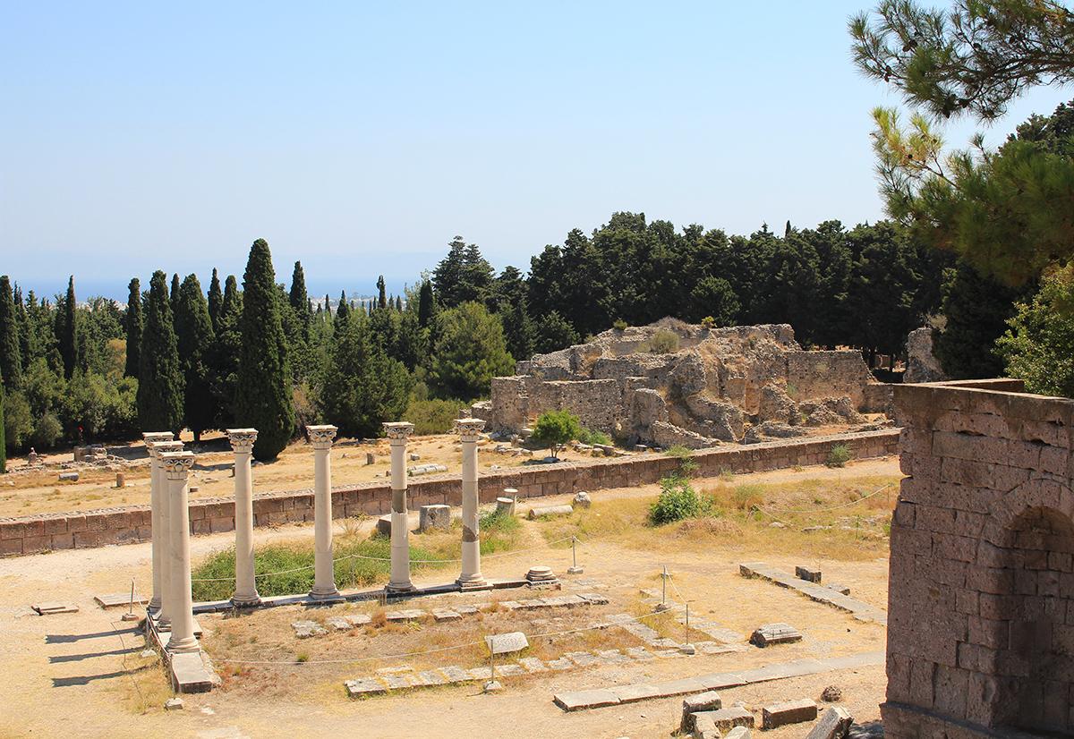 Ile de Kos le sanctuaire d'Asclepeion